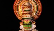 Kathakali classical danceKathakali classical dance of Kerala owes its transnational fame to the nearly 300-year-old. Kathakali literally means story-play and is an elaborate dance depicting the victory of truth over falsehood. Themes revolve around the two great epics, the Ramayana and the Mahabharatha. A Striking feature of Kathakali is the use of elaborate make-up and colourful costumes. This is to emphasize that the characters are superbeings from another world. The spectators can feel his invisible presence when the heroine or her maid details dreams and ambitions through circular movements, delicate footsteps and subtle expressions. Through slow and medium tempos, the dancer is able to find adequate space for improvisations and suggestive bhavas or Kathakali classical danceemotions. Costume is designed with lots of paint applied on the face of the artist. The pomp and magnificence of Kathakali is partly due to its decor, part of which include the 'Kireetam' or huge head gear, the 'Kanchukam' or the over sized jacket, and the long skirt worn over a thick padding of cushions. Make-up which is of five types- Pacha, Kathi, Thadi, Kari and Minukku.