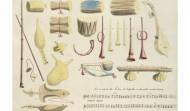 There are many musical instruments in India. Some instruments are used primarily in north Indian music (Hindustani sangeet), some are used in the south Indian music (Carnatic sangeet), while others are found in folk music. Instrumental music is usually similar to vocal music but sometimes there are distinctive instrumental styles.  There is a traditional system for the classification of instruments. This system is based upon; non-membranous percussion (ghan), membranous percussion (avanaddh), wind blown (sushir), plucked string (tat), bowed string (vitat). Here are the classes and representative instruments.  NON-MEMBRANOUS PERCUSSIVE (Ghan)  This is one of the oldest classes of instruments in India. This class is based upon percussive instruments which do not have membranes, specifically those which have solid resonators. These may be either melodic instruments or instruments to keep tal.  * Chimpta * Ghatam * Ghungharu * Jal Tarang * Kartal * Kasht Tarang * Manjira * Nout * Murchang  BLOWN AIR (Sushir)  This class of instrument is characterized by the use of air to excite the various resonators.  * Bansuri * Bombashi * Harmonium * Mukhavina * Nadaswaram * Ottu * Pungi * Shankh * Shehnai * Surpeti  PLUCKED STRINGED INSTRUMENTS (Tat)  This class of instruments is characterized by plucked strings. In ancient times virtually all instruments of this class were referred to as vina.  * Bulbul Tarang * Dotar #1 * Dotar #2 (Dotora) * Ektar * Getchu Vadyam (Gettuvadyam) * Gopichand (ektar) * Gotuvadyam * Katho * Magadi Vina * Nakula Vina * Rabab (Kabuli Rabab) * Rudra Vina * Saraswati Vina (South Indian Vina) * Santur * Sarod * Seni Rabab * Sitar * Surbahar * Surmandal * Swarabat (Swaragat) * Tanpura * Vichitra Vina  BOWED-STRINGED INSTRUMENTS (Vitat)  This is a class of stringed instruments which are bowed. This class appears to be quite old, yet these instruments did not occupy a place in classical music until the last few centuries. The entire class of instruments has a 