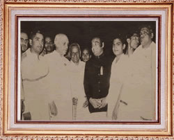 Guru Gopinath with Nehru