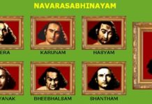 Kathakali – NAVARASABHINAYAM