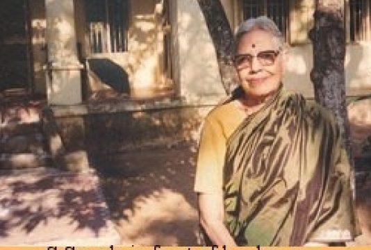 S Sarada: Dance scholar and teacher